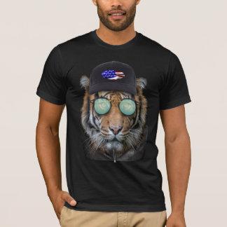 Funny wildlife dressed up Bengal Tiger T-Shirt