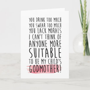 Godmother Gifts Will You Be My Godmother Ideas Zazzle Au