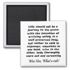 Funny wine quote joke birthday humour gifts magnet