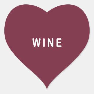 Funny wine sticker