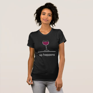 Funny Wine Theme T-Shirt