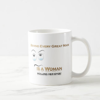 Funny Woman VS Great Man Coffee Mug