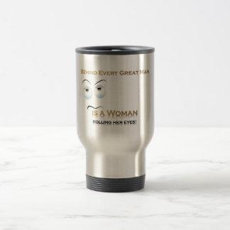 Funny Woman VS Great Man Mugs
