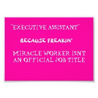funny work quote photo print