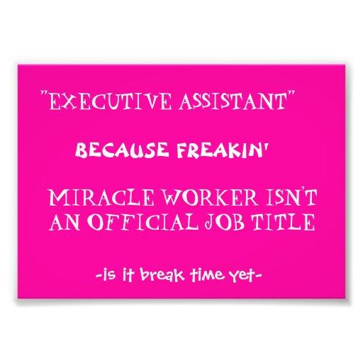 funny work quote photo print