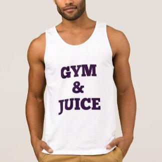 funny workout Fitness GYM & JUICE funny Singlet