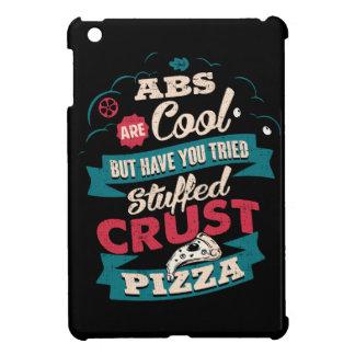 Funny Workout Humor, Abs vs Pizza, Bulking Novelty iPad Mini Cover