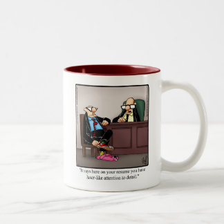 Funny Workplace Attention To Detail Humor Mug