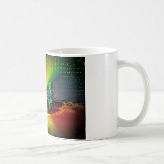 Funny world 2 basic white mug
