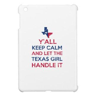 Funny Y'all Texan tees iPad Mini Cover
