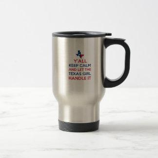 Funny Y'all Texan tees Travel Mug