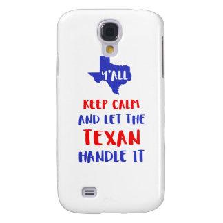 Funny Y'all Texas Girl Tees Samsung Galaxy S4 Cases