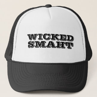 Funny Yankee Accent | Wicked Smart Smaht Bostonian Trucker Hat