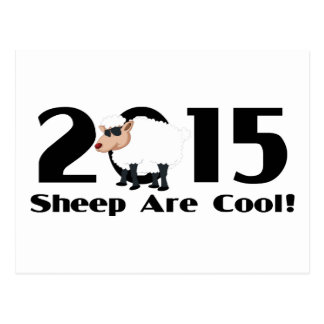 Funny Year of The Sheep Ram Goat 2015 Postcards