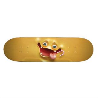 Funny Yellow Face 19.7 Cm Skateboard Deck