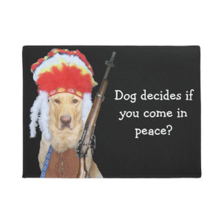 Funny Dog Doormats Amp Welcome Mats Zazzle Com Au