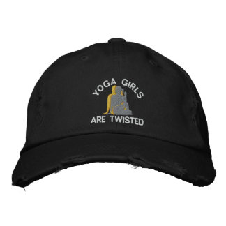 Funny Yoga Girls Are Twisted Baseball Cap