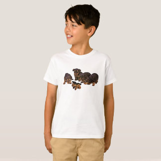 Funny Yorkshire Terrier Puppies Dogs Boy's T-Shirt