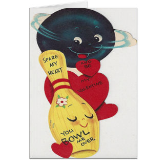 Funny You Bowl Me Over Valentine's Day Card