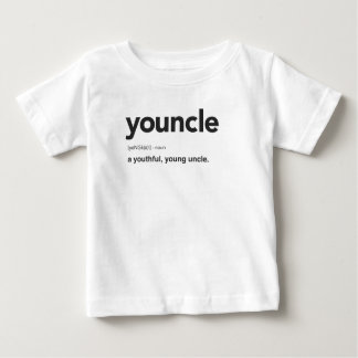 Funny Youncle Definition Print Baby T-Shirt