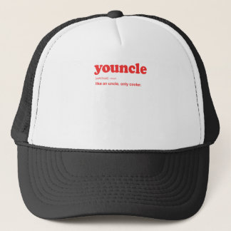 Funny Youncle Definition Print Trucker Hat