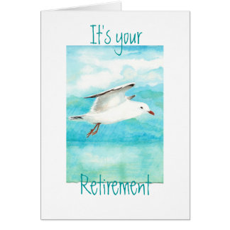 Funny Your Retirement  Seagull- Bird Cards
