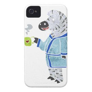 Funny zebra. Case-Mate iPhone 4 cases