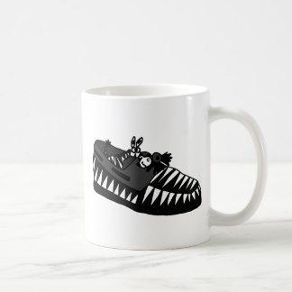 Funny Zebra in a Shoe Art Coffee Mugs