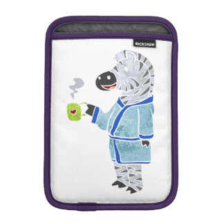 Funny zebra. iPad mini sleeve