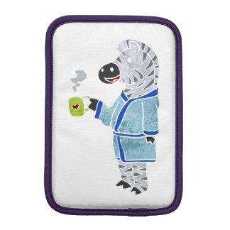 Funny zebra. iPad mini sleeves