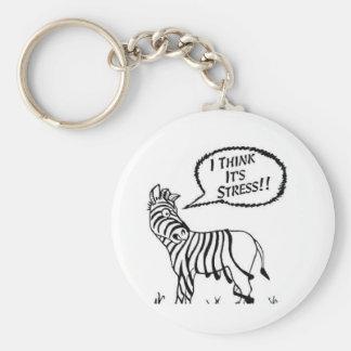 Funny Zebra Key-Chain Key Ring