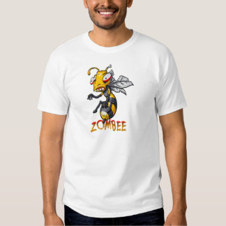 Funny Zombie Bee Tee Shirts