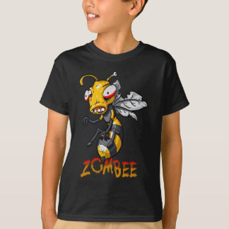 Funny Zombie Bee Tshirt