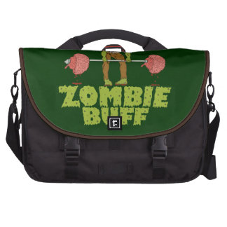 Funny Zombie Buff Weight Lifter Laptop Computer Bag