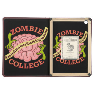 Funny Zombie College Logo Cover For iPad Air