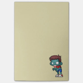 Funny Zombie Guy Post-it Notes