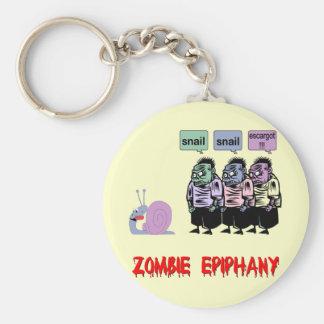 Funny zombie key ring