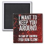 Funny Zombies Apocalypse Humour Fridge Magnets