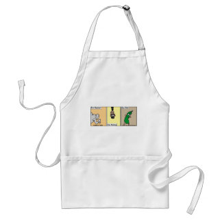 Funny Zoo/Animal Cartoon Gifts & Collectibles Standard Apron