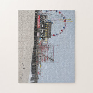 Funtown Pier Seaside Heights New Jersey Shore Puzzle