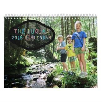 Fuqua Family 2018 Calendar