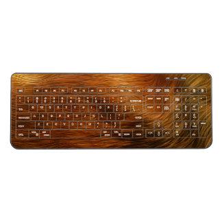 Fur effect keyboard
