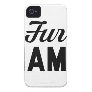 Fur Mama iPhone 4 Cover