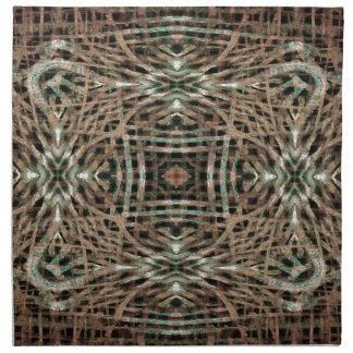 Fur Texture Abstract Pattern Cloth Napkin