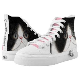 Furball Cat Kitten Shoes CouchPetatoArt