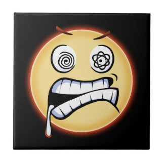 Furious Moji Ceramic Tile