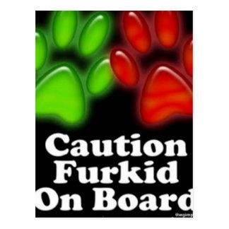 furkids_onboard postcard