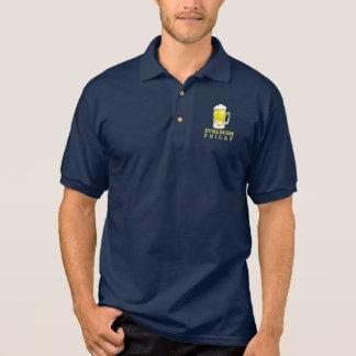 Furlough Friday Beer Mug Men's Polo Shirt