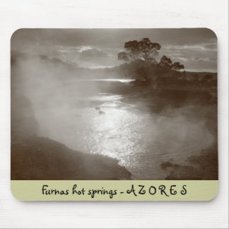 Furnas hot springs mouse pad