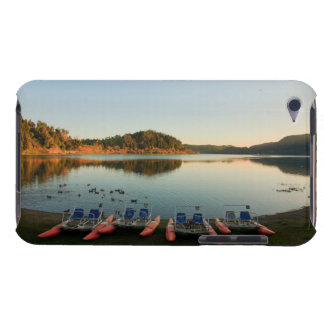 Furnas lake at sunset barely there iPod case